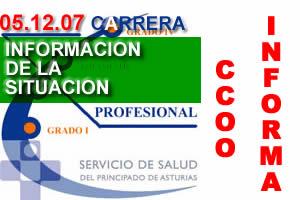 INFORMACION DE ULTIMA HORA SOBRE LAS CARRERAS PROFESIONALES