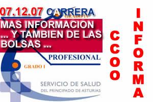 IMPORTANTISIMA INFORMACION EN LOS TEMAS DE CARRERA Y ACTUALIZACION DE MERITOS DEL SESPA