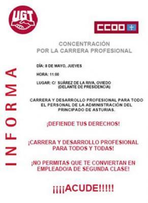 ¡¡CARRERA Y DESARROLLO PROFESIONAL PARA TODOS Y TODAS!!