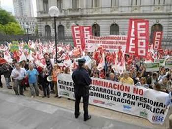CONVOCADAS CONCENTRACIONES POR EL DESARROLLO PROFESIONAL LOS DIAS 5, 12 Y 19 DE JUNIO.