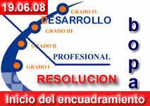 """Hoy sale la Resolucion del SESPA con el """"inicio del proceso"""" de encuadramiento del Desarrollo Profesional …"""