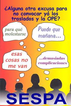 """HOY SALE PUBLICADO EN EL BOPA LA LEY DE CREDITO EXTRAORDINARIO, EN CONSECUENCIA, LAS CONVOCATORIAS DE TRASLADOS Y OPE YA NO TIENEN """"EXCUSA"""" POSIBLE … ¿CUMPLIRAN?"""