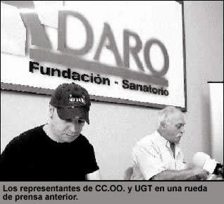 La plantilla del Adaro anuncia movilizaciones por la negociación del convenio