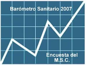 """13.08.08.- MAS LECTURAS DEL """"BAROMETRO SANITARIO 2007"""" PUBLICADO POR EL MINISTERIO DE SANIDAD Y CONSUMO …"""