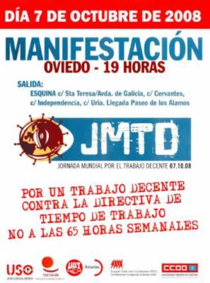 MAÑANA CONCENTRACION POR LA MAÑANA Y MANIFESTACION POR LA TARDE ...